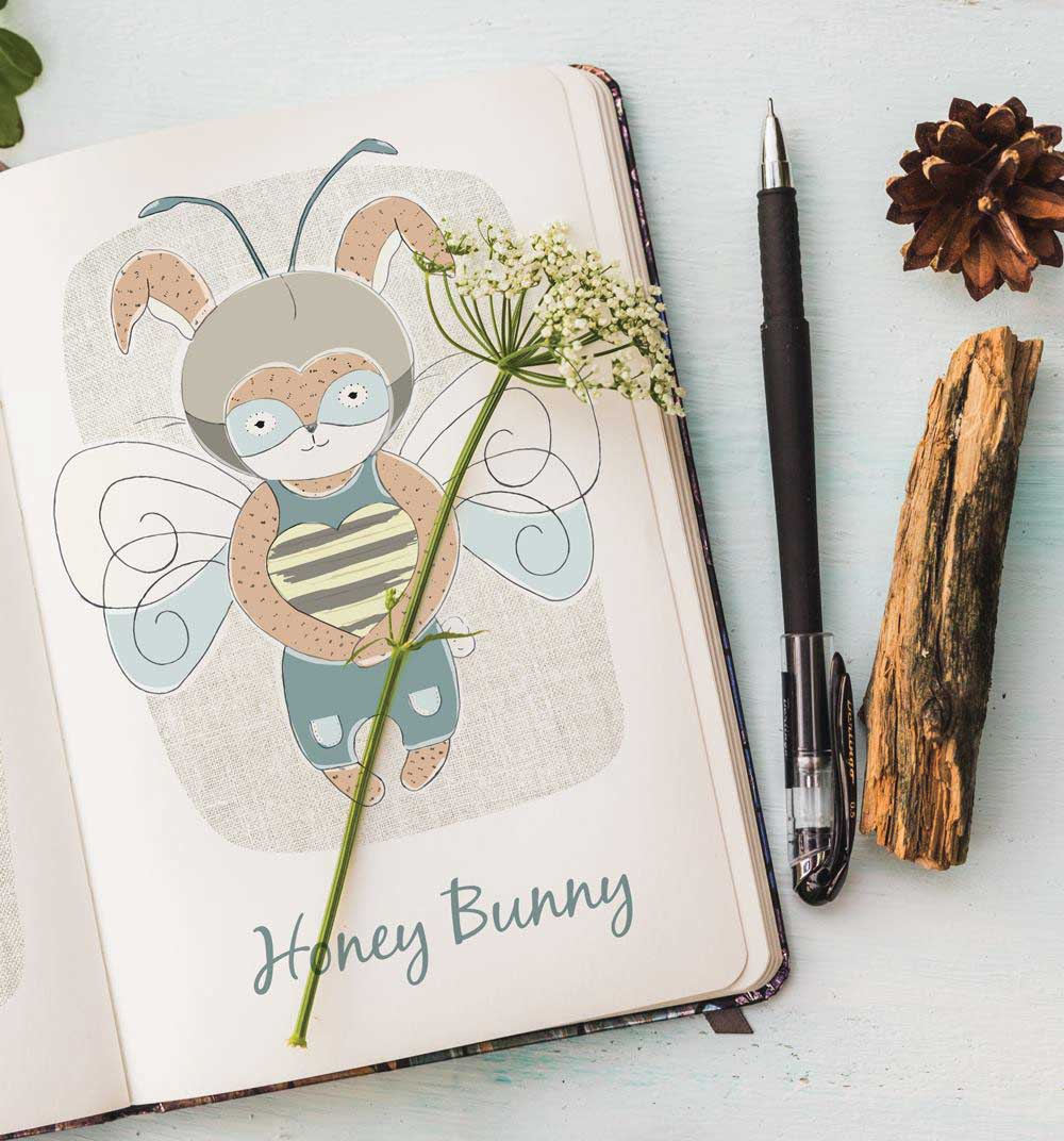 jacqui-gunn-designs-honey-bunny-print